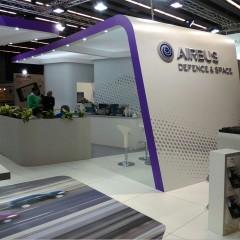 Fabricación, montaje y desmontaje stand Airbus CCW Barcelona