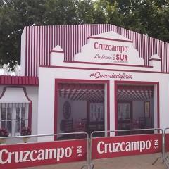 Fabricación, montaje y desmontaje Cruzcampo Feria de Córdoba