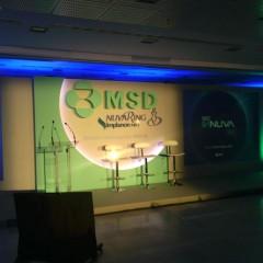 Fabricación, montaje y desmontaje congreso MSD Madrid