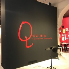 Fabricación, montaje y desmontaje Expo. Quico Rivas 2018